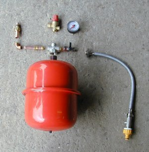 Plumbing Articles Unvented Hot Water Storage System